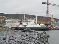 """""""Godfjord"""" (OlafHorsevik) Tags: ferge ferga ferja ferje hamek harstad thn torghatten nord hurtigruten godfjord"""
