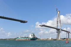 Bridge construction Anno 2018 (powerfocusfotografie) Tags: bridge panama new construction panamacanal ocean sea water ship outdoors henk nikond7200 powerfocusfotografie