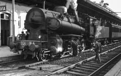FS Gr 743.240 Pavia Settembre 1963 - Foto Roberto Trionfini (stefano.trionfini) Tags: train treni bahn zug steam dampf fs gr743 pavia lombardia italia italy