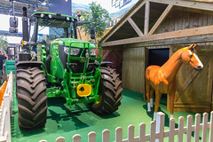 Farm tractor and horse at Farming Simulator 19 booth (marcoverch) Tags: 2018 cologne deutschland e3 zocken kölnmesse gamescom games germany computerspiele messe fusball cosplay köln gaming noperson keineperson outdoors drausen wood holz industry industrie machinery maschinen transportationsystem transportsystem vehicle fahrzeug farm bauernhof people menschen exhibition ausstellung equipment ausrüstung summer sommer heavy schwer machine maschine agriculture landwirtschaft power leistung daylight tageslicht competition wettbewerb business geschäft nature natur bus berlin seaside fuji railroad colors pentax air heron golden farmtractor horse farmingsimulator19 booth