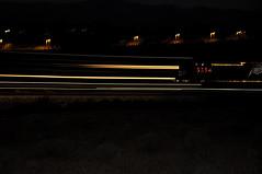 UPRR 5354 (Narodnie Mstiteli) Tags: unionpacific uprr lawton nevada lightpath donbachman narodniemstiteli locomotive engine rail tren railroad decals night eveningshot motion eveningshoot trial reno