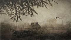The land that time forgot (ᗷOOᑎᕮ ᗷᒪᗩᑎᑕO) Tags: truck morrigan flickr sl secondlife foggy jian wildlife