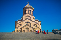 Holy Trinity Cathedral of Tbilisi, Georgia (CamelKW) Tags: georgia june2017 holytrinitycathedraloftbilisi cathedral tbilisi