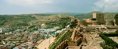 Panorama of Alcazaba, Almeria, Spain (mpszczolam) Tags: alcazaba almeria spain landscape espanol panorama view