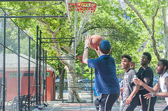 1358_0202FL (davidben33) Tags: brooklyn ny crown height summer 2018 park sport basketball people children 718 plaj joi trees bushes sporting field