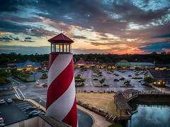 Harbour 9 Annapolis (HDR) (FotographybyFrank) Tags: sunset lighthouse fotographybyfrank maryland annapolis hdr flight fly drone mavic dji cloudy market oldnavy