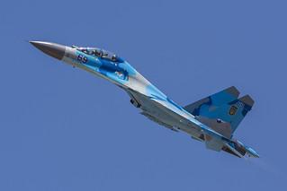 69, Sukhoi Su-27UB Ukraine Air Force @ Kecskemet LHKE
