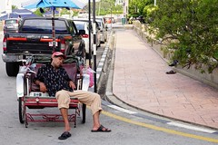 Geogetown, Penang. Having a rest. (Luis L-M) Tags: penang georgetown malaysia bikes stphotographia