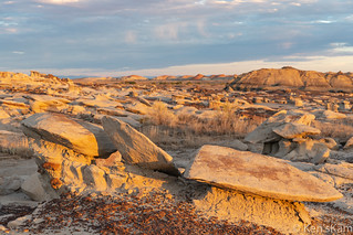 Bisti Golden Hour