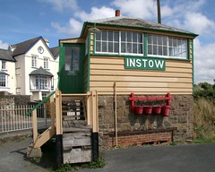 Instow Station and Level Crossing, North Devon (kitmasterbloke) Tags: instow devon tarka railway disused preserved heritage lswr southernrailway outdoor uk