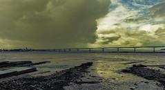 face-à-face (laurent.triboulois) Tags: nuages clouds beach