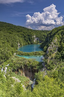 *Lower Plitvice Lakes @ vertical version*