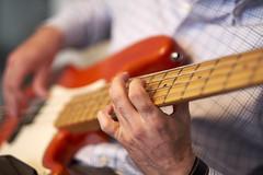 Friend on Bass Guitar (gpeier) Tags: electric guitar music musician bass
