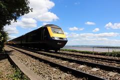 43069 (StuDot66) Tags: first great western railways 1b31 london paddington swansea gatcombe gloucestershire severn estuary river class 43 43069 hst