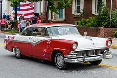Red and White Fairlane (kevnkc2) Tags: stdntsdoncooper lightroom pennsylvania spring nikon d610 shippensburg cumberland county memorialday parade tamron 2470mmg2 sp2470mmf28divcusdg2a032