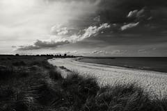 Ruhe (liebeslakritze) Tags: ruhe strand allein wm deutschlandmexiko beach sky himmel sand ostsee balticsea