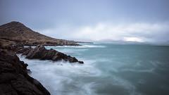 Irish coast (Rene Wieland) Tags: ireland irland eire coast longexposure rocks mountains hills ringofkerry nature coastline water ocean langzeitbelichtung