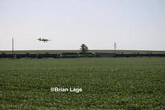 Planes & Trains(1) (eslade4) Tags: iowariverrailroad exiac exmstl excnw cropduster iarr iarr3004 iarr3802 gp30 gp38