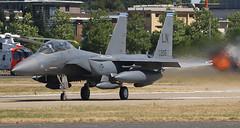 96 205 LN based F15E leaving FIA 2018 (SPA-LHR) Tags: 96 205 f15