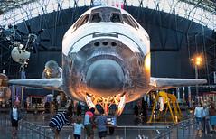DSCF0289_90_91_HDR (thedoc31) Tags: udvarhazy washingtondc dc udvar spaceshuttle space shuttle discovery sr71blackbird sr71 blackbird aircraft airplane
