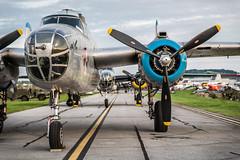 DSC_0304-Edit (CEGPhotography) Tags: 2018 reading ww2 ww2weekend wwii wwiiweekend airshow midatlanticairmuseum pa history b25 b25mitchell mitchell bomber