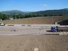 gilwern to brynmawr a465 heads of the valleys road dualling june 2018 r (Dskies) Tags: road building construction major works tarmac bridges wlaes wales june sunny