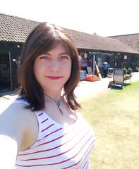 Summer selfie (Joanne (Hay Llamas!)) Tags: transgender shemale genderfluid genderqueer tg brunette tgirl gurl cute uk brit british britgirl joanne hayllamas summer selfie