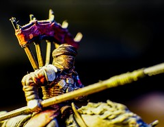 Haradrim riding to war (ramvogel) Tags: sony a6300 sigma sigma30mmf14 makro extension tubes haradrim lordoftherings tabletop