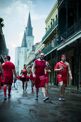 Red Dress Run (michael.mu) Tags: frenchquarter leica neworleans noctilux reddress reddressrun 2018 leicanoctiluxm50mmf095asph theleicalook bokeh m240 streetphotography