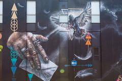 Connectivity (tommyajohansson) Tags: unitedkingdom streetart shoreditch tommyajohansson geotagged