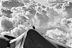 La Punta del Castore 4'226m (Photo by Lele) Tags: bianco e nero castore rosa monte staffal bn maini daniele fotografia photo montagna mountain panorama landscape ticino switzerland tessin suisse svizzera escursione paesaggio paesage nature natura alps alpi alpen photography escursioni trekking excursion hiking tourism turismo vacanze vacanza holiday tour trip fotografo schweiz adventure