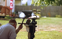 French Creek Heritage Event (rentavet) Tags: blacksmithing blacksmith frenchcreekheritageevent cochrantonpa ferrania100asa nikkormatel nikkor105mm analog crawfordcountypa