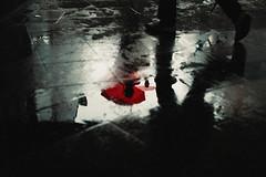 Glaze (ewitsoe) Tags: 50mm canoneos6dii cityscape ewitsoe polska street warszawa erikwitsoe poland summer urban warsaw water reflection reflect pool rain umbrella parasol city metro tunnel inside outside waterdrops poolingwater