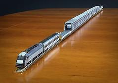 2016-11-22 17.44.26 (Transrail) Tags: eurotunnel kato cjm model train channeltunnel leshuttle passenger freight bobobo doubledeck singledeck loader loading coach carriage ngauge locomotive electric