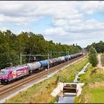 HSL Netherlands 186 383 + Keteltrein, Hengelo Oost thumbnail