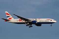 G-YMML Boeing B777-236(ER) EGLL 28-12-15 (MarkP51) Tags: gymml boeing b777236er b777 britishairways ba baw london heathrow airport lhr egll england airliner aircraft airplane plane image markp51 nikon d7100 aviationphotography sunshine sunny