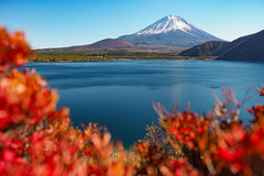 富士山|本栖湖 (里卡豆) Tags: fujikawaguchikomachi yamanashiken japan jp 日本 olympus penf 17mm f12 pro olympus17mmf12pro olympuspenf 富士山 fujisan