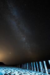 Voie Lactée et Mars (Damien Menil) Tags: mars voie lactée milkyway ciel sky etoile star nuit night planete planet plage beach ile noirmoutiers vendée france canon 750d samyang 10mm