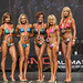 Bikini Grandmasters 4th Bourdon 2nd Antelmi 1st Van Empel-Popowich 3rd Whyte 5th Lister