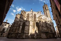La Catedral vista desde la cabecera (Fernando Two Two) Tags: barcelona bcn building medieval architecture arquitectura gothic gotic gótico cabecera