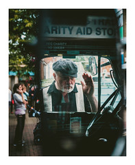 Wing Man (ashtennisguru) Tags: portrait xt10 landscape street people retro outdoor 35mm fujifilm colour contrast candid travel streetphotography texture fuji fujix vintage city europe uk detail