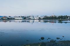 Tjörnin Pond, Reykjavik (Journalist and Photographer) Tags: culturenight iceland reykjavik summernight