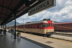 nova gorica [I] (dadiolli) Tags: novagorica slowenien si slovenia neugörz train station 813 wocheinerbahn bohinjrailway