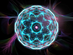 Mandala 210 (karl_eschenbach) Tags: mandala buddha spirituality digitalart apophysis photoshop psychedelic abstract