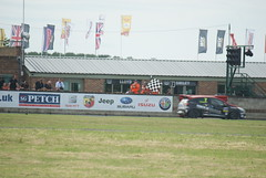 Clio Cup Finish Line (mwclarkson) Tags: btcc croft circuit touring cars clio cup f4