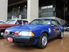 Michigan State Police (Emergency_Spotter) Tags: michigan state police paw mi msp post 1992 ford mustang ssp special service package