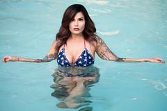 Miss Miller (Mark_Rosa) Tags: 2017 diane nikond810 swimmingpool beauty bikini brunette female girl model outdoors pool swimwear tattoos woman