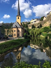 Alzette (brimidooley) Tags: alzette grund luxembourg luxembourgcity grandduchy luxemburg lussemburgo luxemburgo luksemburg eu europe europa city citybreak travel gronn uelzecht