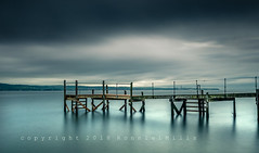 The Art of Being Still   [Explored] (RonnieLMills 5 Million Views. Thank You All :)) Tags: kinnegar jetty wooden pier long exposure water belfast lough holywood county down northern ireland explore explored 2