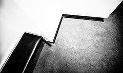 CornerLines.jpg (Klaus Ressmann) Tags: klaus ressmann omd em1 abstract fparis france interior winter bench blackandwhite contrast design flcabsoth minimal klausressmann omdem1